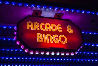 Amusement Arcade Bingo Game
