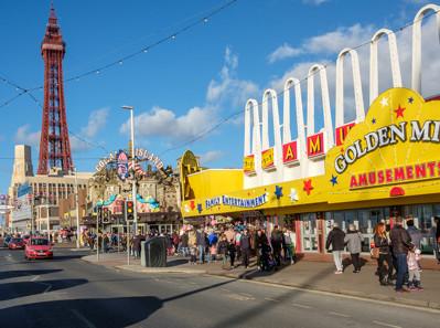 Amusement Arcade in Blackpool