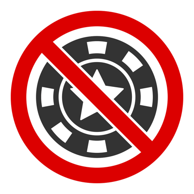 No Casino Icon